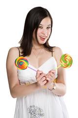 Lollipops woman