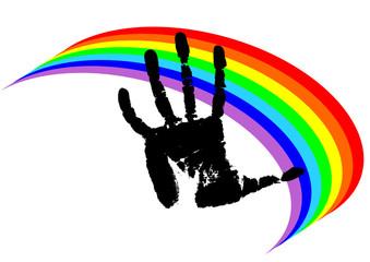 peace's hand