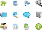 Fototapety web and application icon - varico set 9