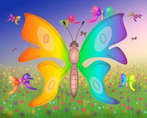 Rêve aux papillons