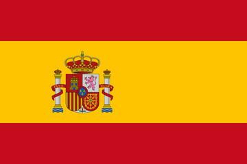 Drapeau Espagne True Colors