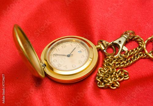 Leinwanddruck Bild old clock