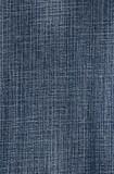 Blue denim fabric background poster