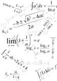 mathematics formula poster