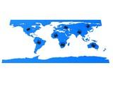 globale vernetzung poster