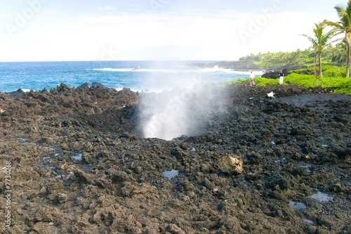 Blowhole at Nakalele Point