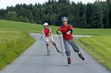Nordic Blading - Trendsport für sportliche... poster