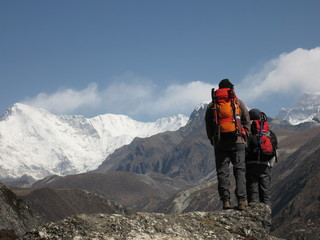 Looking over the Khumbu