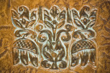 leather decoration ornament poster
