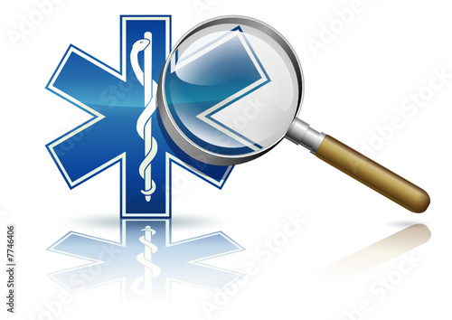 Etude du secteur médical (reflet)