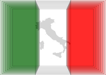 Italy flags