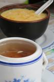 Chinese Medicinal Herbal Soup and Mango Sago Dessert poster