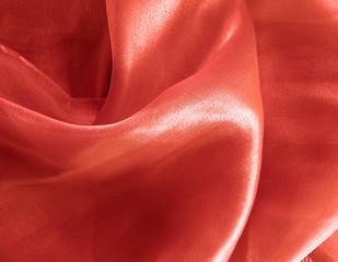 Red silk - texture
