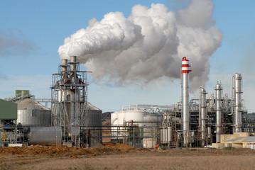 fábrica contaminante