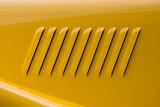 voiture radiateur jaune collection carroserie aération ouïe vent poster