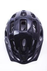 Black helmet.