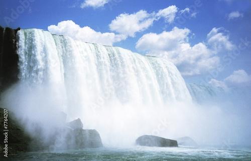 Fototapete Wasserfall - Geiser - Poster - Aufkleber