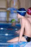 Fototapety .young swimmer