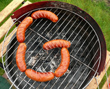 Sausages in the shape of