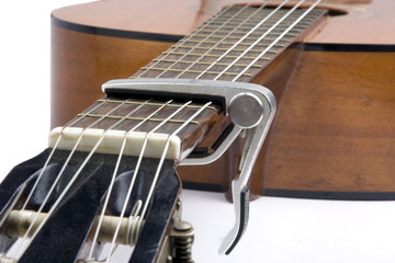 Musique - Guitare classique et capodastre