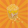 Quadro Popcorn