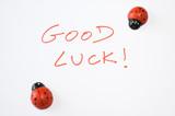 Good luck! poster