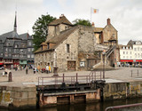 The Picturesque Town of Honfleur in France poster