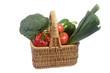 Gefüllter Gemüsekorb