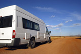 Motorhome on its way in Australia poster