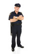 Policeman - Full Body Isolated