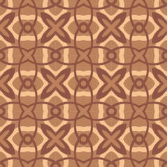 chocolate-flowers-pattern