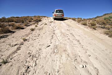4 wheel drive in Flinders National Park in Australia