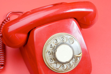 Red telephone
