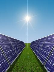 Solar power concept