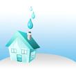 maison et eau