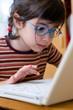 Enfant et ordinateur