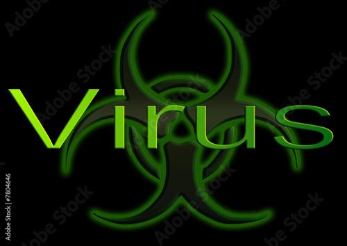 Virus Informatique Logo Virus Informatique Photo