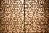 Moroccan doorway detail poster
