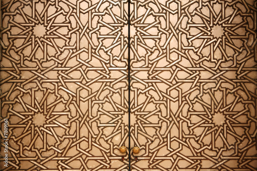 Moroccan doorway detail - 7809061