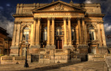 HDR image of County Sessions House, Liverpool, England poster