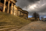 HDR image of Liverpool Central Library  poster