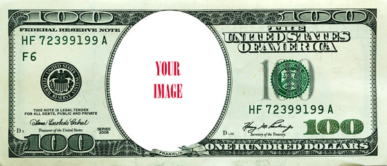 US dollars - your image