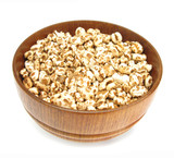 Wheat cereal flakes expanded grains  poster