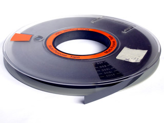 Computer magnetic tape reel