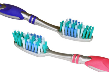 Dental brushes it is isolated