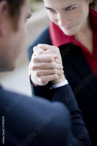 business arm wrestle
