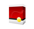 red software box