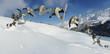 Snowboarder do a