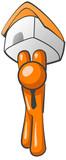 Orange Man Home Ownership poster