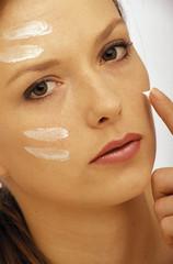 Crema sul viso